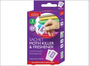 Acana Moth Proofer Moth Killer & Fresh Sachet Lavender x 20