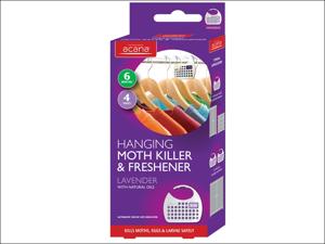 Acana Moth Proofer Moth Killer & Fresh Hanger Lavender x 4