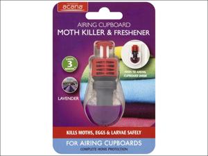 Acana Moth Proofer Airing Cupboard Moth Killer ACA011