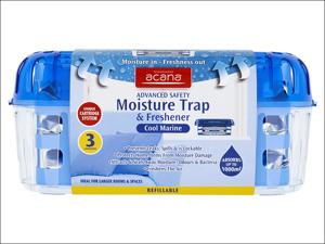Acana Moisture Absorber Advanced Safety Moisture Absorber Includes 3 Refills