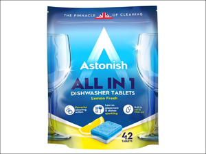 Astonish Products Dishwasher Detergent All In One Dishwasher Tablets x 42 C2170