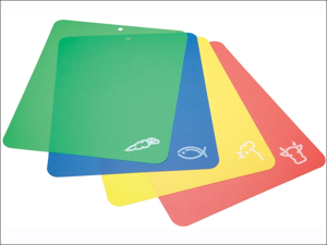 Kitchen Craft Chopping Board Flexible Colour Cutting Mat 30 x 38 KCFLEXCUT2