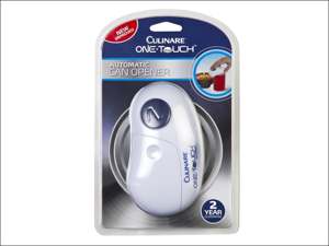 Culinare Electronic Can Opener Culinare One Touch Can Opener White C50600