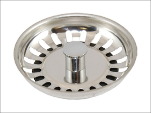 London & Lancashire Sink Strainer Sink Strainer Plug Basket With Stem 2068