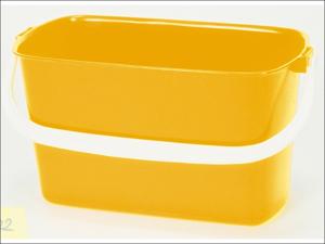 Lucy Washing Up Bowl Rectangular Oblong Bowl Mild Yellow Large L1602028