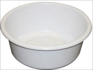 Lucy Washing Up Bowl Round Round Bowl Granite 13.5in L1604204