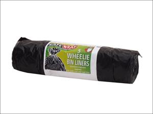 Robinson Young Bin Liner Safewrap Wheelie Bin Liners X5 0455