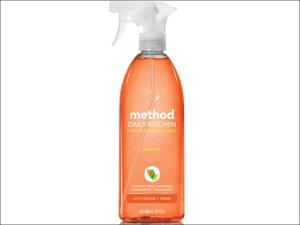 Method Kitchen Cleaner Daily Kitchen Spray Clement 828ml 4001723