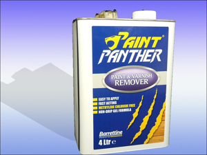 Barrettine Paint/ Varnish Remover Paint Panther Paint Stripper 250m