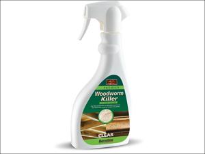 Barrettine Woodworm Killer Solvent Base Wood Preserving Woodworm Killer Spray 500ml SPWW.50