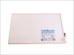 Nicoline Notice Board Magnetic Wipe Dry Board White 60 x 40cm