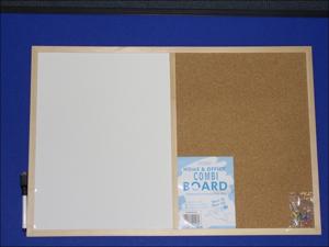 Nicoline Notice Board Combi Board 60 x 40cm