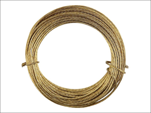 Basics Picture Wire Picture Wire Brass 6 Metre 3188