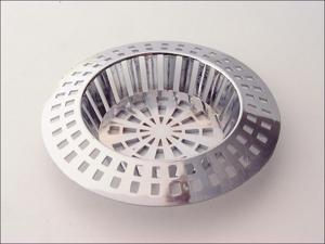 Basics Sink Strainer Sink Strainer Chrome Plated/abs 1.5in 015693