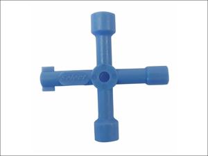 Basics Key Meter Box Utility Service Key 4way 041661