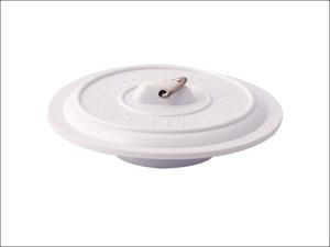 Basics Sink & Bath Plug Universal Sink Plug 1.5-2in White 24732