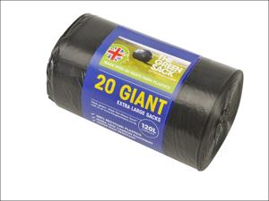 BPI Bin Liner Giant Bin Liner 120L x 20 GR0700