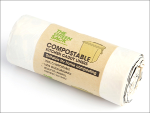 BPI Recycle Caddy Liner Green Sack Comp Kit Caddy Liner x 24 GR0411