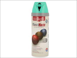 Plastikote Decorative Paint Twist & Spray Matt Classic Teal 400ml