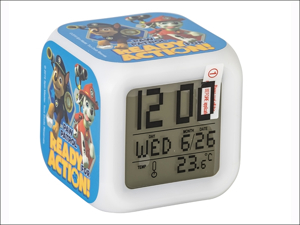 Paroh Alarm Clock Paw Patrol Digital Alarm Clock PW15-DALC2