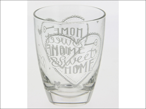 Cerve Mixer/ Whisky Glass Love Home Water Tumblers x 3 M66820