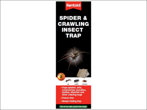 Rentokil Insect Trap Spider & Crawling Insect trap x 3 FS58