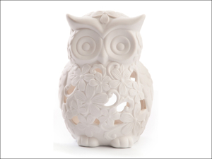 DMD Candle Holder Welcome Home Owl Tealight Large PC55CA010