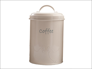 DMD Individual Canister Enamel Coffee Canister Chirpy Chicks Cream PC5201012