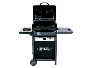 Outback Gas Barbecue Omega 250 Gas Barbecue Including Regulator OUT370514