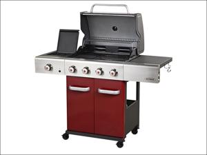 Outback Gas Barbecue Jupiter 4 Burn Barbecue Including Regulator OUT370562
