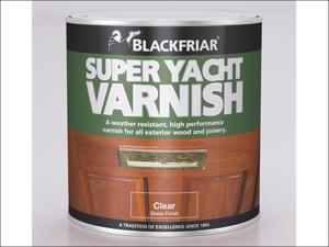 Blackfriar Clear Exterior Varnish Super Yacht Varnish 1L