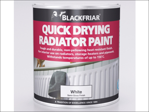 Blackfriar Radiator Paint Quick Dry Radiator Paint White 250ml