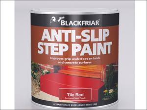 Blackfriar Floor Paint Slip Resist Step Paint Tile Red 250ml