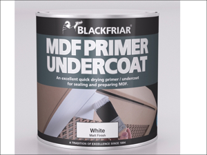 Blackfriar Wood Primer Quick Dry MDF Primer & Undercoat White 500ml