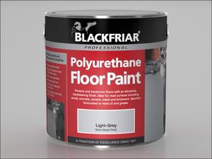 Blackfriar Floor Paint Polyurethane Floor Paint Red 2.5L