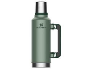 Stanley Vacuum Flask Classic Vacuum Bottle Hammered Green 1.9L 10-07934-003