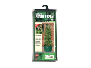 Bosmere Patio Planter Reusable Runner Bean Bag & Bean Ring N418