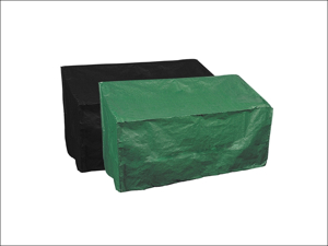 Bosmere Bench Cover Reversible Bench Cover 3 Seater Green & Black P410