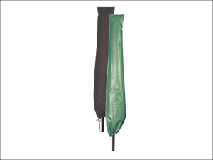 Bosmere Parasol Cover Reversible Parasol Cover Extra Large Green & Black P395