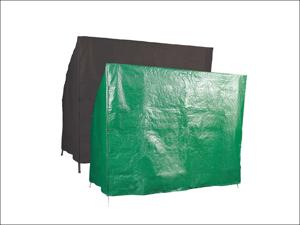 Bosmere Hammock Cover Reversible Hammock Cover 3 Seater Green & Black P305