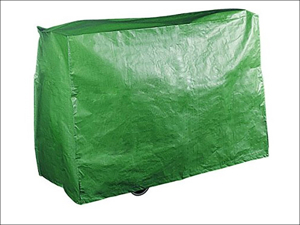 Bosmere Barbecue Cover Grill BBQ Cover Reversible Black/ Green P520