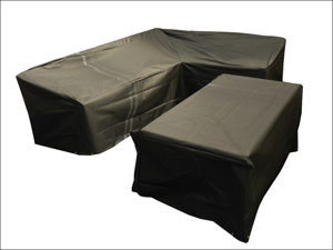 Bosmere Table & Chair Set Cover L-Shape Dining Cover Right Side Long M668
