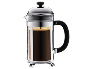 Bodum Complete Cafetiere Chambord Coffee Maker Chrome 3 Cup 1923-16