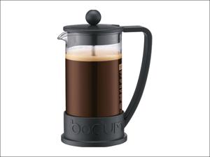 Bodum Complete Cafetiere Brazil Coffee Press 8 Cup Black 10938-01