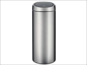 Brabantia Touch Bin Touch Bin Matt Steel 30L Body/ Lid 1153.49