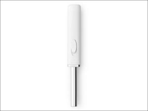 Brabantia Gas Lighter Classic Gas Flame Lighter White 3487.09