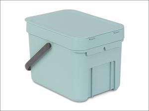 Brabantia Recycling Caddy Sort & Go Waste Bin Mint 6L 1096.45