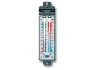 Brannan Max-min Thermometer Thermometer Max-Min Deluxe with Magnet Reset 12/401