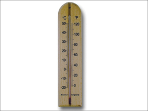 Brannan Wall Thermometer Thermometer Wall Wood 200mm 14/432