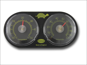Brannan Humidity Thermometer Temperature & Humidity Meter Twin Dial 30/442/3